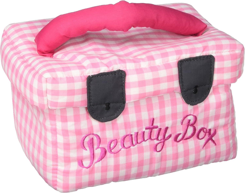 Oskar & Ellen 7 piece Soft Fabric Beauty Box Makeup Hand Sewn Fair Trade Fabric Playset Toy