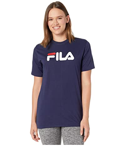 Fila Eagle Tee (White/Peacoat/Chinese Red) Women