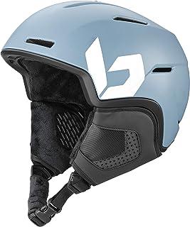 Bollé Unisex – vuxna motiv skidhjälm, storm blå matta, 55-59 cm
