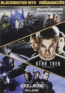 Transformers / Star Trek / G.I. Joe: The Rise Of Cobra Blockbuster Hits