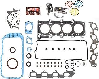 Evergreen Engine Rering Kit FSBRR8004EVE000 Fits 99-03 Suzuki Chervrolet 1.8 2.0 DOHC J18A J20A Full Gasket Set, Standard Size Main Rod Bearings, Standard Size Piston Rings