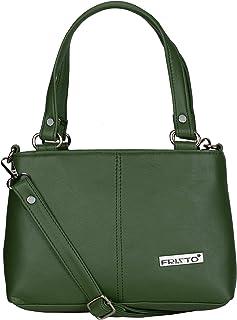 Fristo Women's Kaira Handbag & Sling Bag(FRBN-008)(Green)