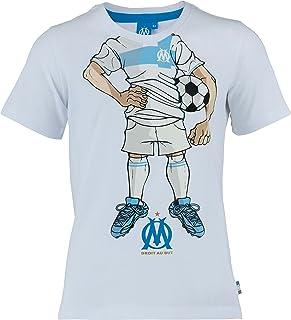 1dd29de9e5eaa OLYMPIQUE DE MARSEILLE T-Shirt Om - Collection Officielle Taille Enfant  garçon