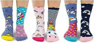 Unicorn Daze - Caja 6 calcetines unidos para niñas
