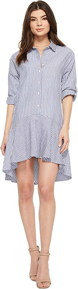 Kaia 3/4 Sleeve Button Up Dress