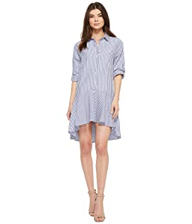 Kaia 3/4 Sleeve Button Up Dress