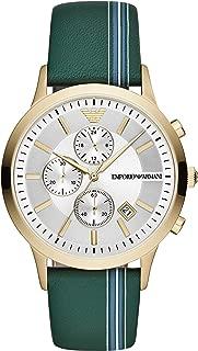 Emporio Armani AR11233 Green Steel 316 L Man Watch
