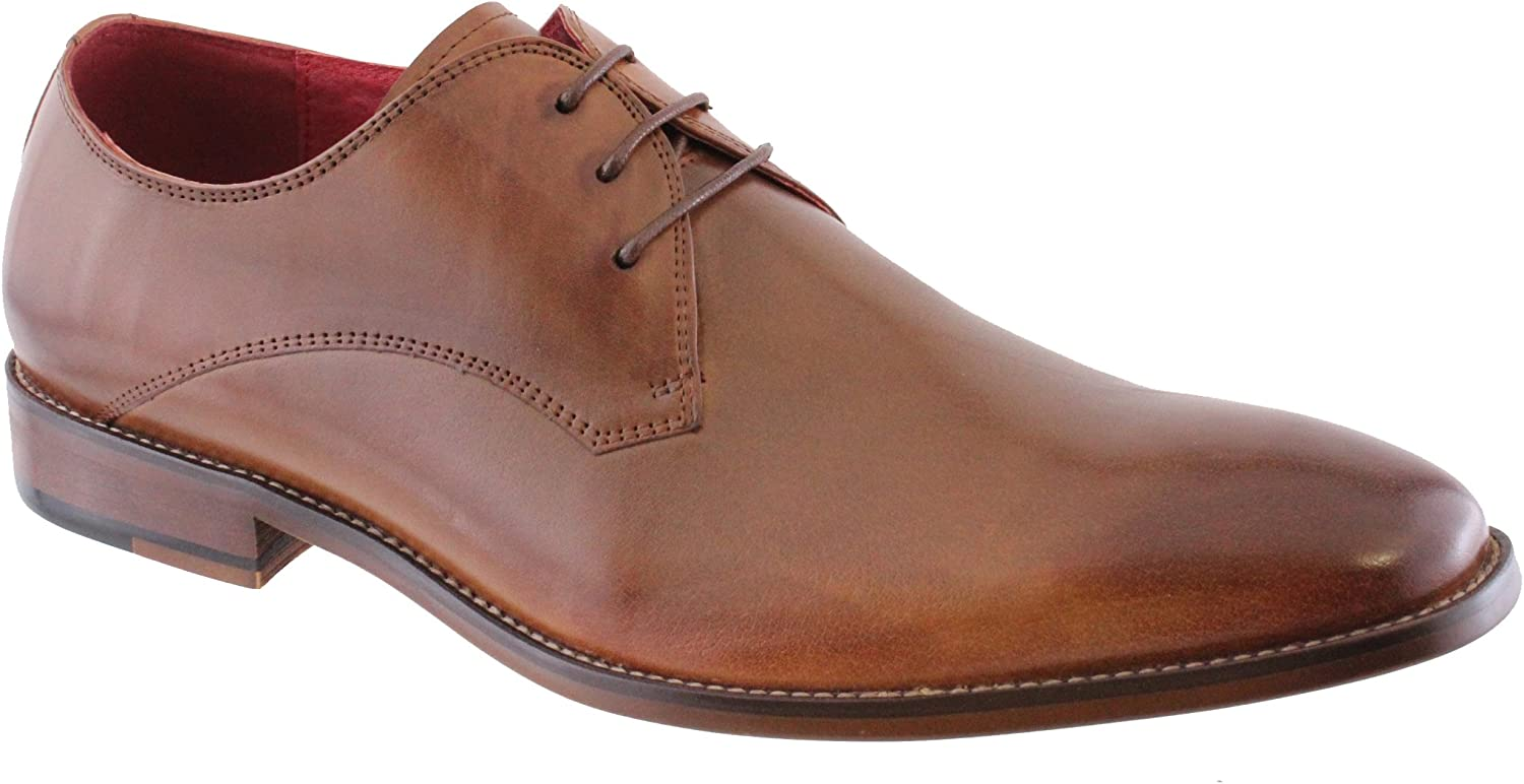 Morgan & Co MGN0604 Plain Tie Leather shoes