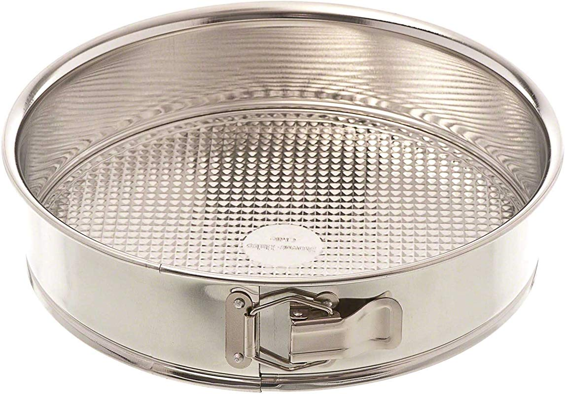 Browne 010CP 10 Tin Spring Form Cake Pan