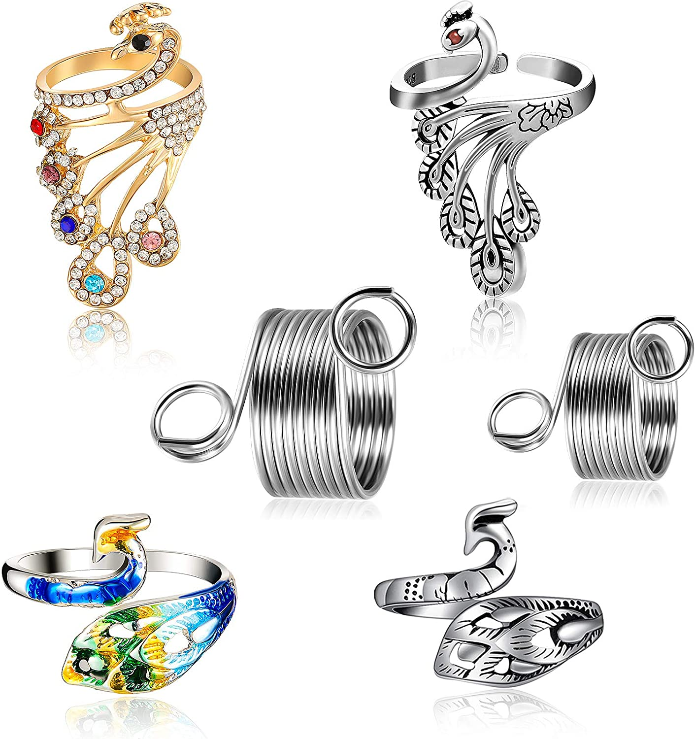 6 Pieces Knitting Loop Crochet Direct stock discount and Max 60% OFF Rings Accessories Se