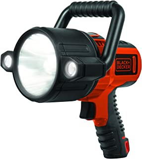 Black + Decker slv2b LED de 10 W Lithium Ion rechargeable Spotlight