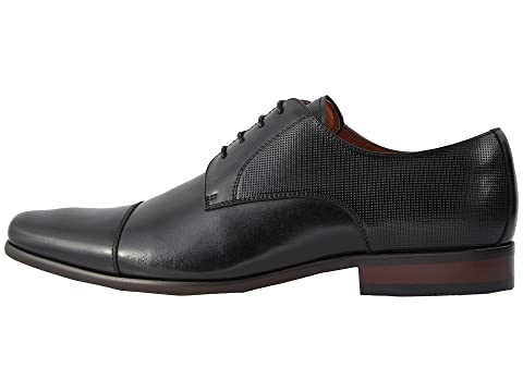 Florsheim Men/'s Postino Cap Toe Leather Oxford Shoes Black 15175-001