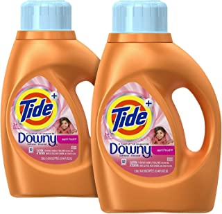 Tide Plus a Touch of Downy Liquid Laundry Detergent - 46 oz - April Fresh - 2 pk