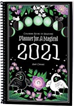 Coloring Book of Shadows: Planner for a Magical 2021