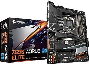 GIGABYTE Z590 AORUS Elite (LGA 1200/ Intel Z590/ ATX/Triple M.2/ PCIe 4.0/ USB 3.2 Gen2X2 Type-C/ 2.5GbE LAN/Gaming Mother...