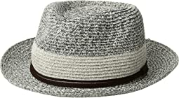 PBF7333 - Packable Fedora with Faux Suede Band