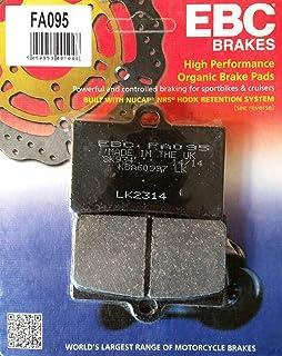 EBC FA095 - Pastillas de Freno compatibles con Ducati SL 900 Supersport 350 400 600 750 900