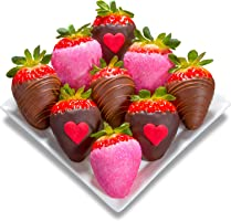 9 Love Bites Chocolate Covered Strawberries (Fun Size)