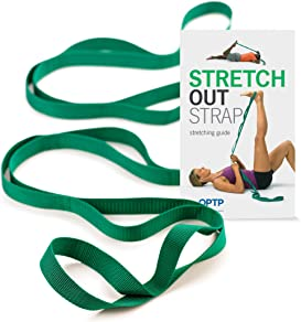 Explore exercise straps for stretching