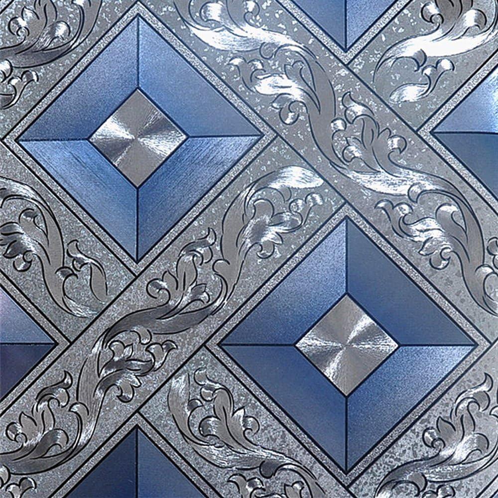 QIHANG Silver Foil Mosaic Max 43% OFF Square Wall Background Lattice Flicker Many popular brands