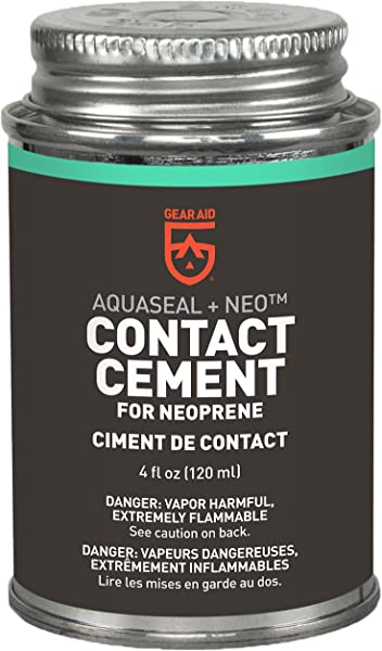Gear Aid Aquaseal NEO Contact Cement For Neoprene And Wetsuit Repair
