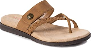 Womens Laina Sandals 8 Tan