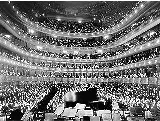 New York Metropolitan Opera Hofmann Concert Photo Large Wall Art Poster Print Thick Paper 18X24 Inch