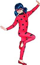 Rubie's-déguisement officiel, Miraculous, Déguisement Classique Ladybug Miraculous Costume + Masque, Taille L, I-620794L (7-8 ans)