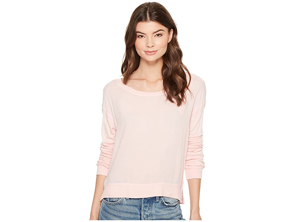 Splendid Keyhole Back Lounge Pullover (Blush Pink) Women