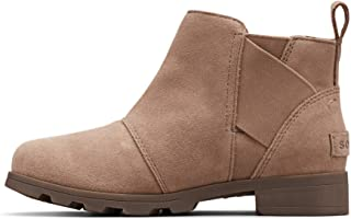 Sorel - Youth Emelie Chelsea Waterproof Suede Ankle Boot for Kids