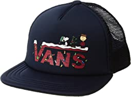 Vans - Vans X Peanuts Trucker (Big Kids)