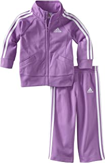 Baby Girls' Li'l Tricot Pant and Jacket Active Clothing Set