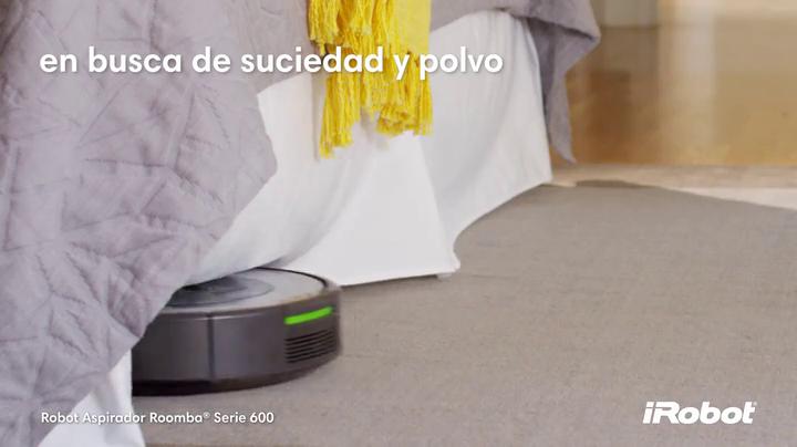 iRobot Roomba 680- Robot aspirador para suelos duros y alfombras, con tecnología Dirt Detect, sistema de limpieza en 3 fases, programable: Amazon.es: Hogar