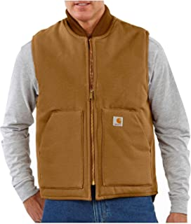 Men's Arctic-Quilt Lined Duck Vest