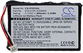 VINTRONS Rechargeable Battery 1100mAh For iPOD E225846, 616-0159, iPod 15GB M9460LL/A, iPod 30GB M8948LL/A