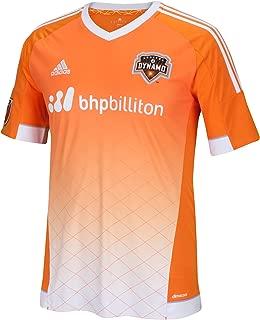 adidas Mens Houston Dynamo MLS Replica Jersey Orange