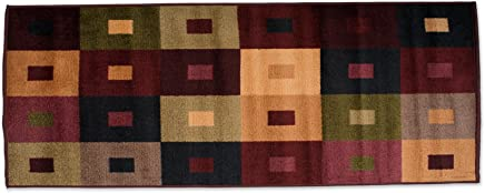featured product Fashion Contemporary Non-Skid Runner,  22x60,  Perfect for Living Room,  Kitchen,  Bed Room,  Loft,  Office and more-Squares