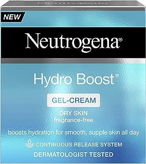 Neutrogena Hydro Boost Gel Cream Moisturiser, Boosts Hydration, Face Moisturiser Formulated with Hyaluronic Acid, 50 ml