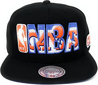 Mitchell and Ness Cleveland Cavaliers HWC Black NBA Insider Snapback Hat Cap