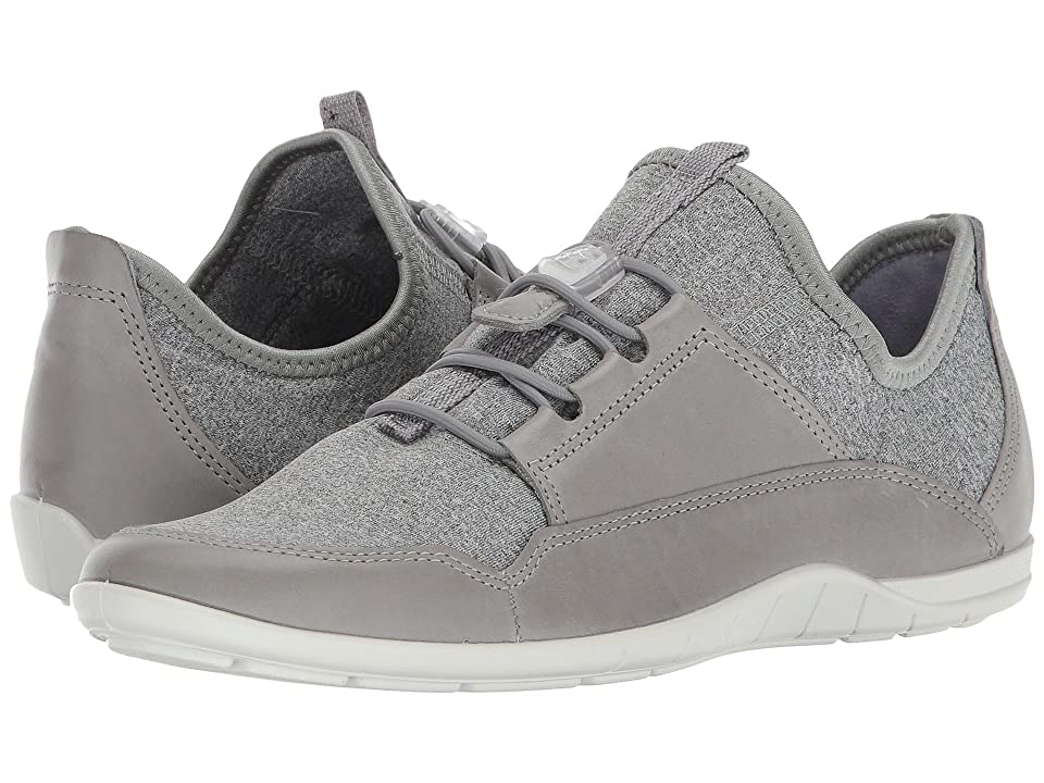 ECCO Bluma Speedlace (Wild Dove/Concrete/White) Women
