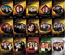 Murdoch Mysteries Ultimate Collection Seasons 1-12 + Movies