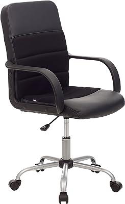 My Office - Silla para Oficina - Línea Soft - Fabricada en Poliuretano - Color Gris - Medidas 58x 58x 102cm
