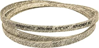 Jeremywell Replacement for CUB Cadet/MTD 754-0461 954-0461 Transmission Drive Belt (mt95)