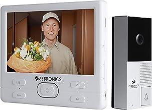 ZEBRONICS Video Door Phone with 7 inch Screen (ZEB-VD7WR)