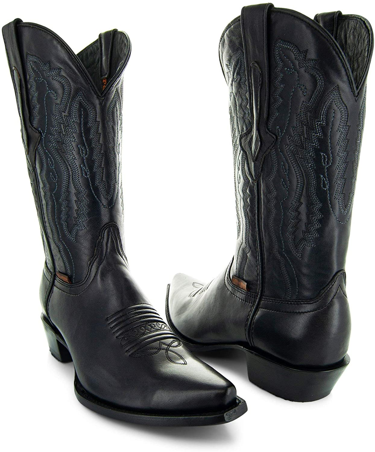 Soto low-pricing Boots Mens Burnished H50030 Cowboy It is very popular Toe Snip