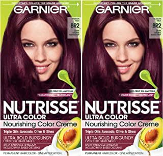 rose red hair dye directions