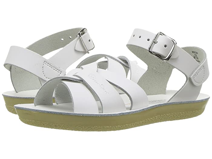 Salt Water Sandal by Hoy Shoes  Sun-San - Swimmer (Toddler/Little Kid) (White) Kids Shoes