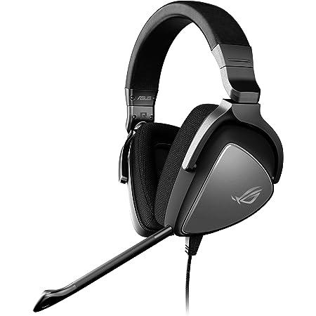 Asus ROG Delta CORE Cuffie Gaming, Driver Essence e Cuscinetti auricolari ergonomici, Compatibile con PS4, Nintendo Switch e XBOX, Colore Nero
