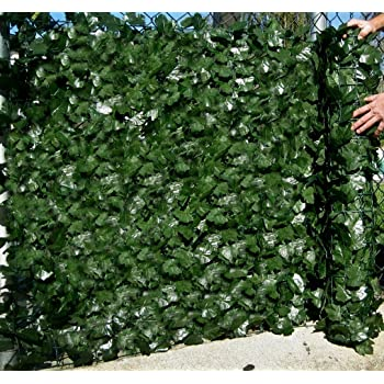 Best Artificial. Seto artificial de ocultación de hiedra inglesa de 1,5 x 3 m, no pierde color, para dar privacidad, como muro de separación o valla de jardín, resistente a rayos UV: