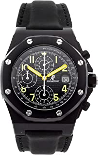 Audemars Piguet Royal Oak Offshore Mechanical (Automatic) Black Dial Mens Watch 25770SN.OO.0009KE.01 (Certified Pre-Owned)